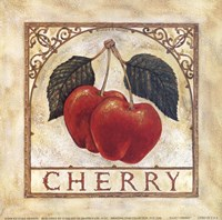 Fancy Cherry Fine Art Print