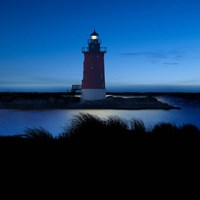 Lighthouse at Night IV Fine Art Print