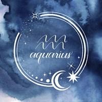 Watercolor Astrology XI Fine Art Print