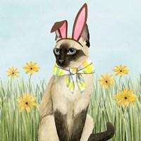 Easter Cats II Fine Art Print