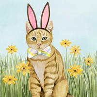 Easter Cats IV Fine Art Print