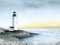 Lighthouse Bay I Fine Art Print