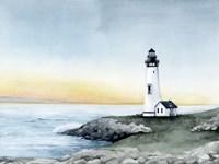 Lighthouse Bay II Fine Art Print