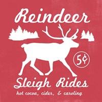 Reindeer Rides I Fine Art Print