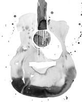 Guitar Flow II Fine Art Print