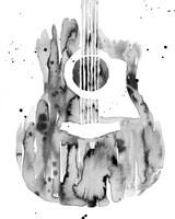 Guitar Flow III Fine Art Print