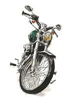 Motorcycles in Ink I Fine Art Print