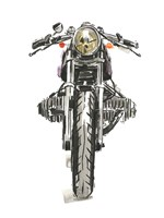 Motorcycles in Ink II Fine Art Print