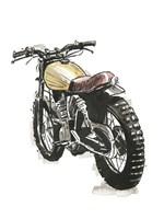 Motorcycles in Ink III Fine Art Print