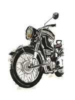 Motorcycles in Ink IV Fine Art Print