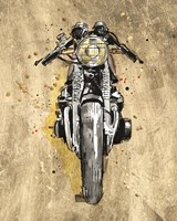 Metallic Rider I Fine Art Print