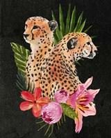 Cheetah Bouquet I Fine Art Print