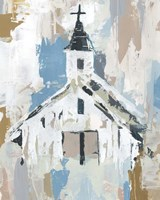 Sunday Chapel I Fine Art Print