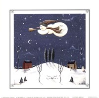 """Winter's Arrival by Donna Atkins - 6"""" x 6"""""""