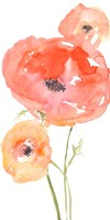 Neon Poppies I Fine Art Print