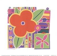 "Flower Power by Richard Henson - 6"" x 6"" - $10.49"
