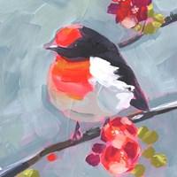 Brushstroke Bird I Fine Art Print