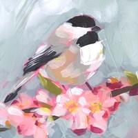 Brushstroke Bird II Fine Art Print