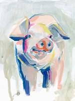 Fluorescent Farm II Fine Art Print