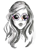 Look into the Sun(Glasses) II Fine Art Print
