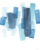 Azure Fragment II Fine Art Print