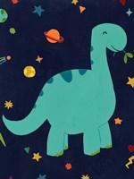 Starry Dinos IV Fine Art Print