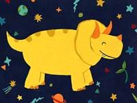 Starry Dinos V Fine Art Print
