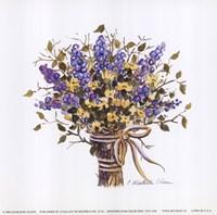"Twig Bouquet II by Charlene Winter Olson - 6"" x 6"""