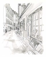 European City Sketch VI Fine Art Print