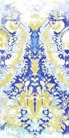 Textile Offset I Framed Print