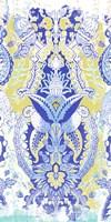 Textile Offset II Framed Print