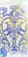 Textile Offset III Framed Print