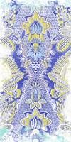 Textile Offset IV Framed Print