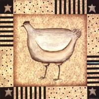Star Hen Fine Art Print