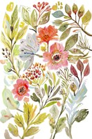 Happy Flowers IV Fine Art Print
