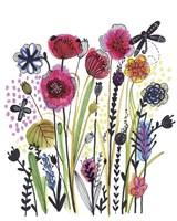 Free Floral II Fine Art Print