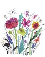 Free Floral III Fine Art Print