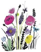 Free Floral IV Fine Art Print