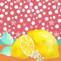 Lemon Inspiration I Fine Art Print
