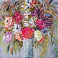 Blooming in Sunshine V Fine Art Print