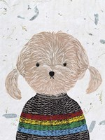 Hip Dog IV Fine Art Print