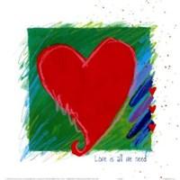 Love - heart Fine Art Print