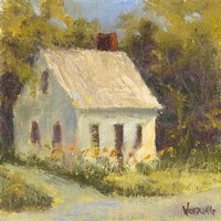 Sweet Cottage I Fine Art Print