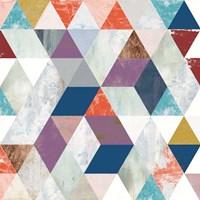 Bright Mosaic I Fine Art Print