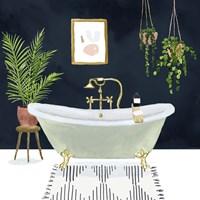 Boho Bath I Fine Art Print