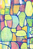 Stained Glass Composition II Fine Art Print