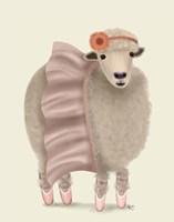 Ballet Sheep 6 Fine Art Print