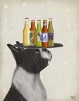 Boston Terrier Beer Lover Fine Art Print