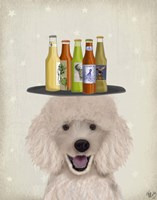 Poodle Beer Lover Fine Art Print