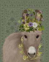 Donkey Bohemian 2 Fine Art Print